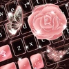 Rose Butterfly keyboard иконка