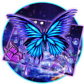 Lively Butterfly Keyboard icon