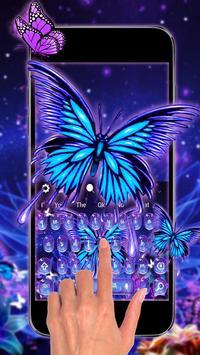 Lively Butterfly Keyboard screenshot 1