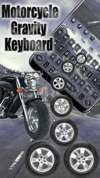 Motorcycle Gravity Keyboard Theme poster