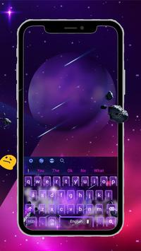 Planet Keyboard Theme screenshot 2