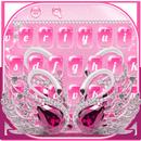 Luxurious Diamond Lover Swan Keyboard APK