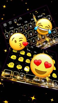 Sparkling Golden Pairs Live Keyboard screenshot 2