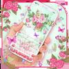 Clavier Fleur Rose icône