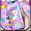 Pink Healing Unicorn Keyboard APK