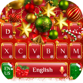 Red Christmas Keyboard icon