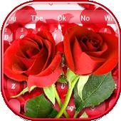 紅玫瑰鍵盤 图标