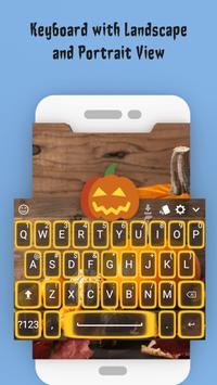 Halloween Keyboard 2019 – Evening screenshot 5