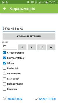 Keepass2Android screenshot 3
