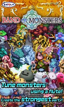RPG Band of Monsters poster