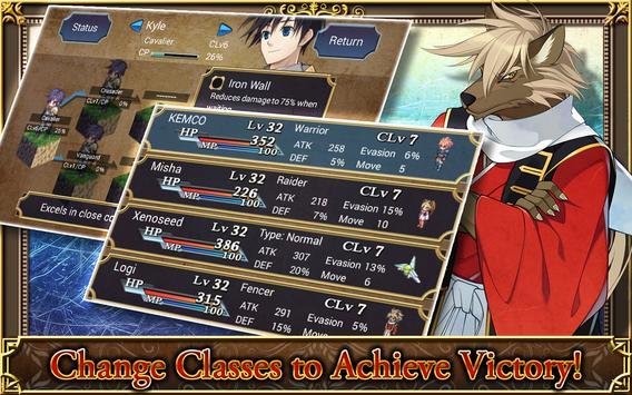 SRPG Legend of Ixtona ảnh chụp màn hình 12