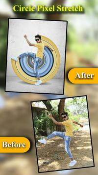 Circle Pixel Stretch Effects - Pics Editor poster