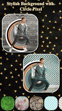 Circle Pixel Stretch Effects - Pics Editor screenshot 1