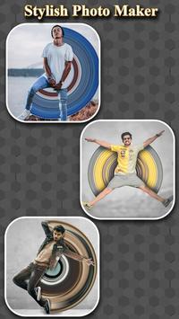 Circle Pixel Stretch Effects - Pics Editor screenshot 3