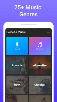 Add music to video - background music for videos screenshot 1