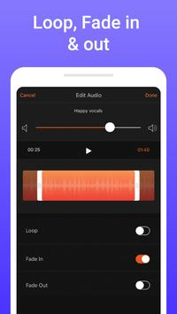 Add music to video - background music for videos screenshot 2