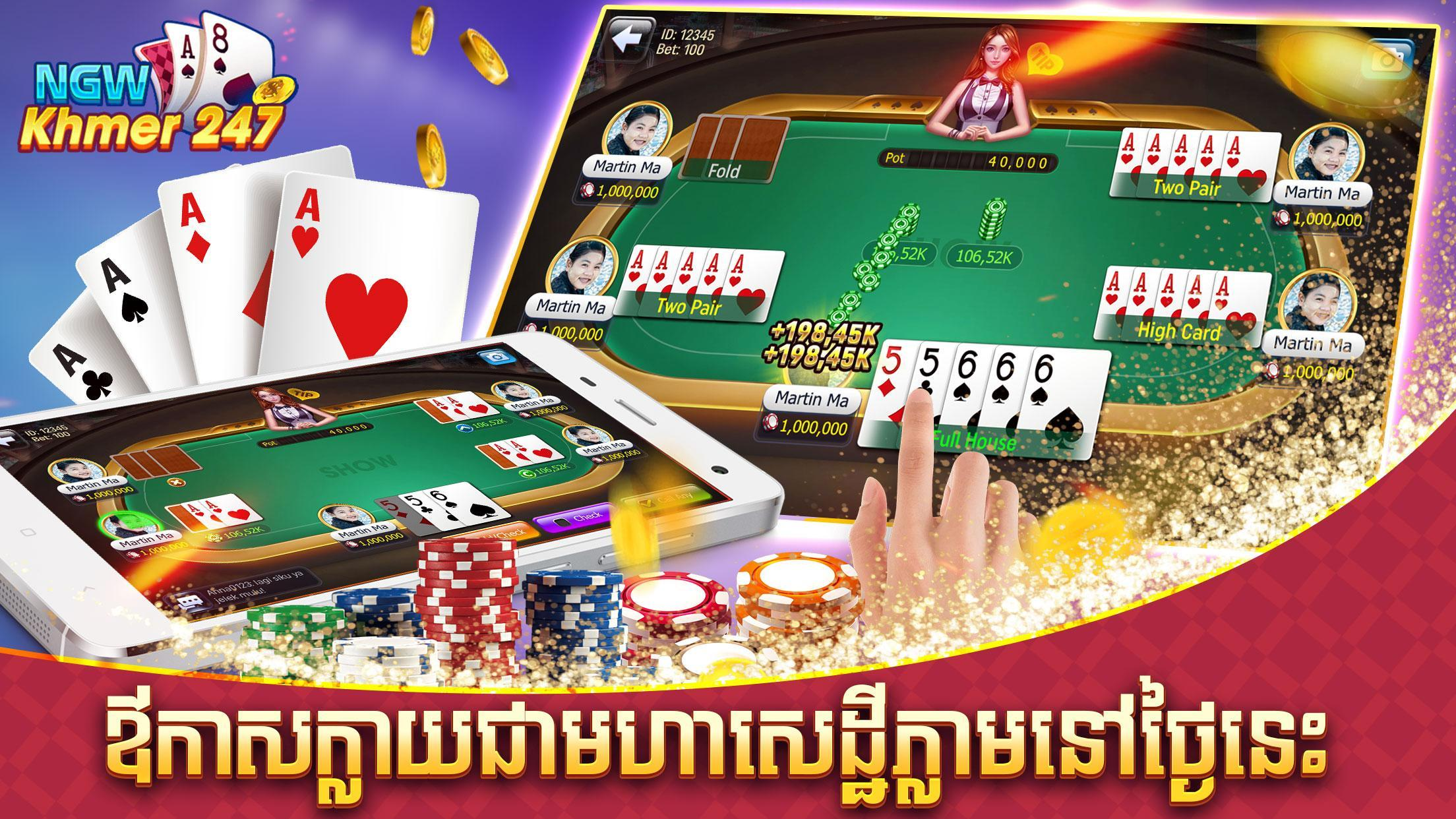 NGW Casino Online 24/7 cho Android - Tải về APK