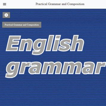 Practical Grammar and Composition poster