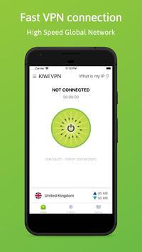 Kiwi VPN poster