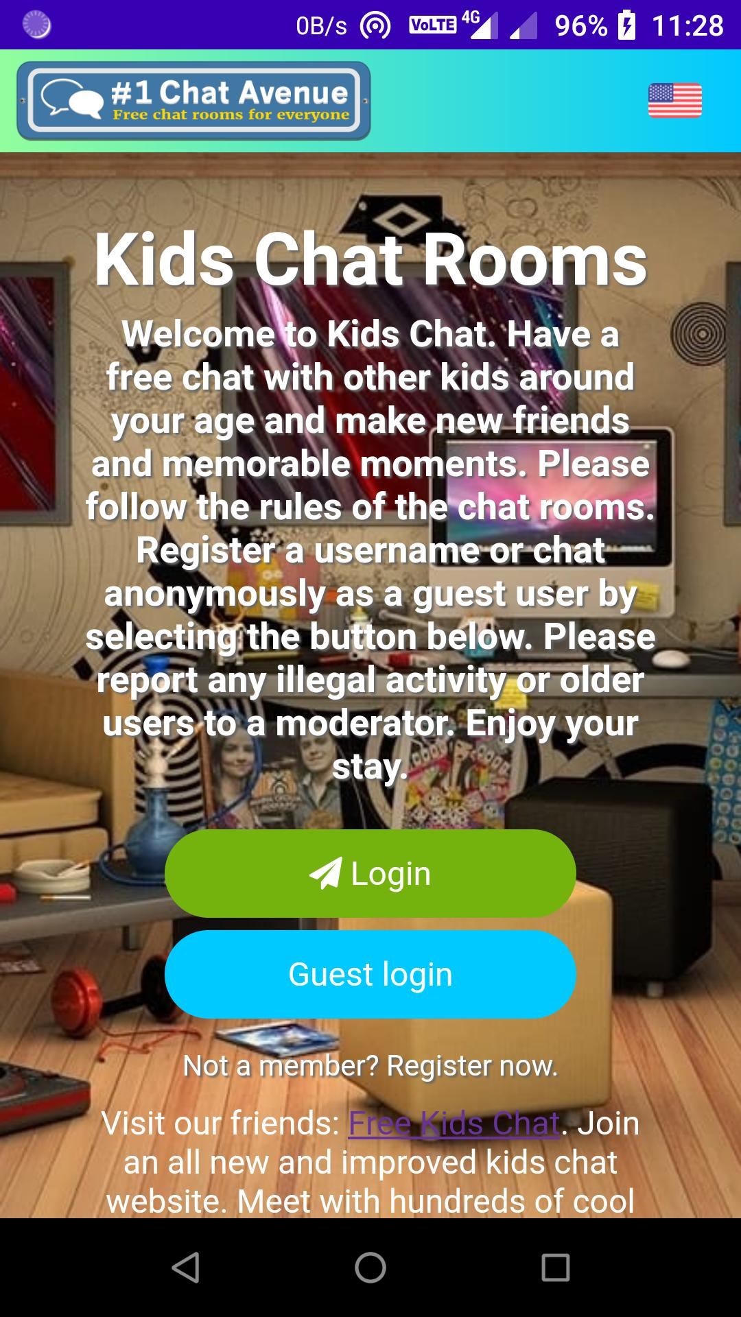 Free Kids Chat 1 Chat Avenue For Android Apk Download