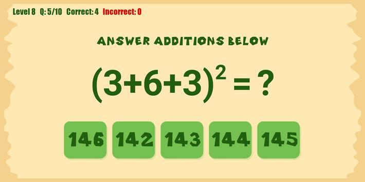 Best Math Games screenshot 1