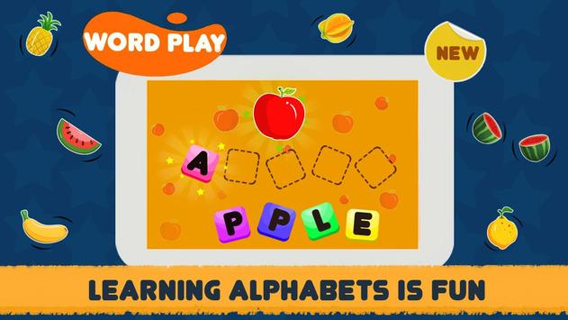 ABC Song - Rhymes Videos, Games, Phonics Learning capture d'écran 4