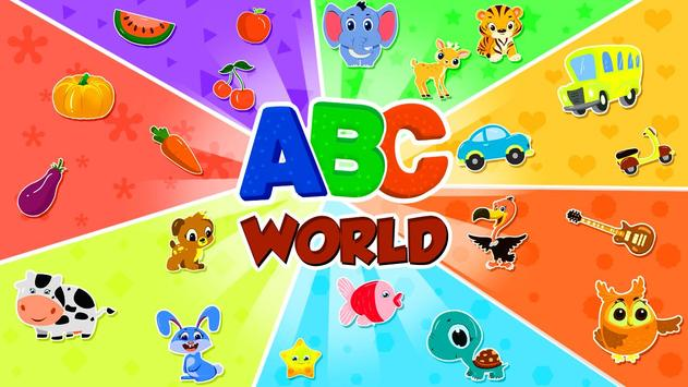ABC Song - Rhymes Videos, Games, Phonics Learning capture d'écran 1