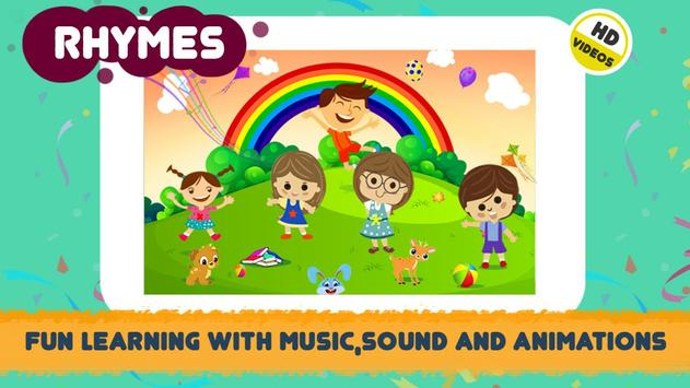ABC Song - Rhymes Videos, Games, Phonics Learning capture d'écran 2