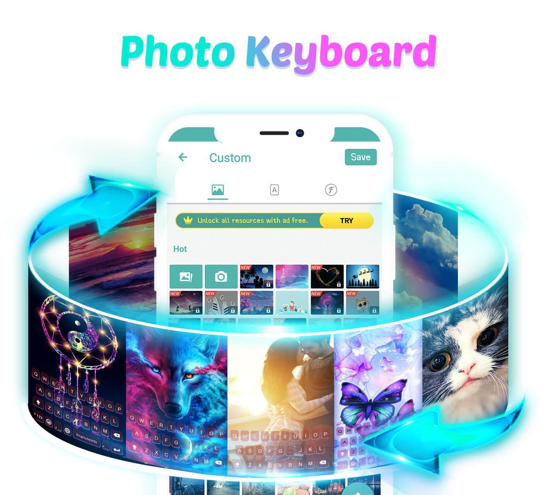 Menginstal aplikasi Kika Keyboard
