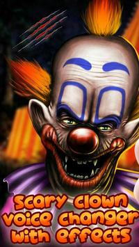 Scary Clown Voice Changer poster