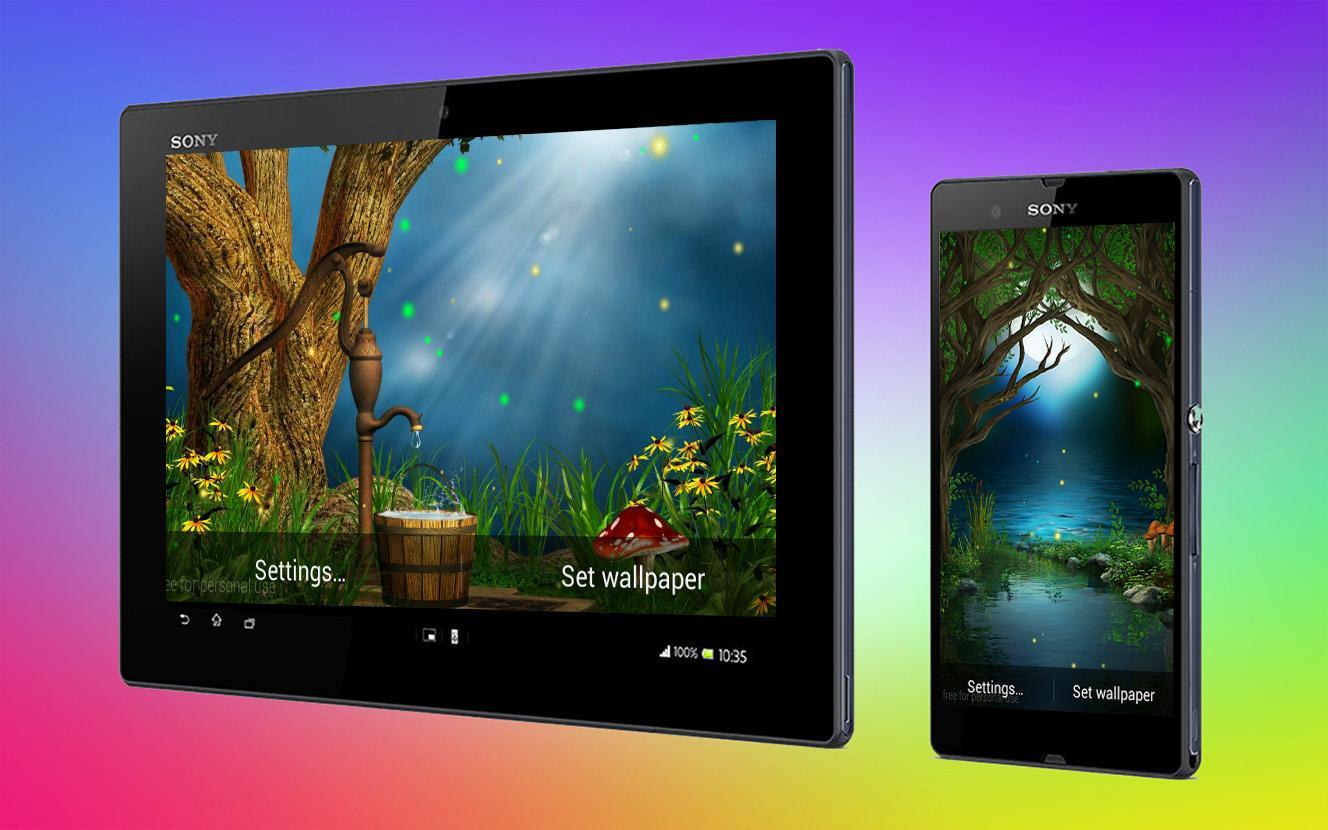 Firefly 3D Live Wallpaper for Android - APK Download