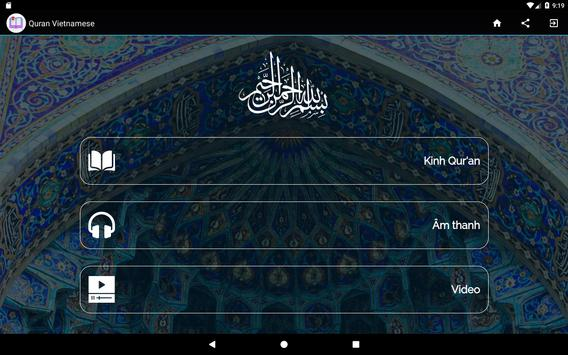 Quran Vietnamese screenshot 3