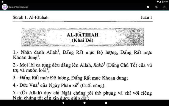 Quran Vietnamese screenshot 6