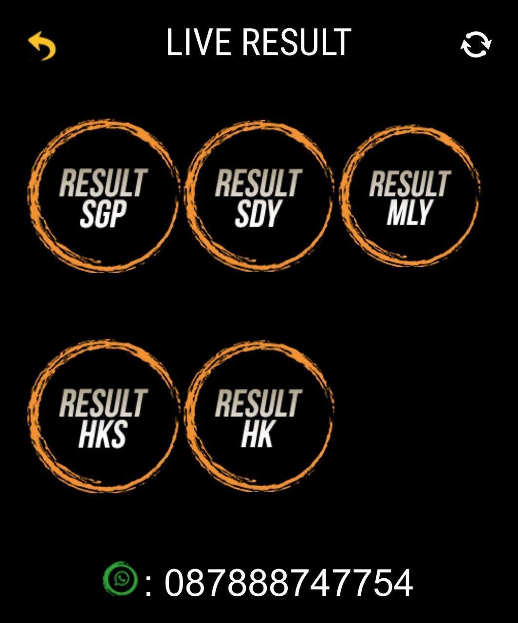 Live result sgp