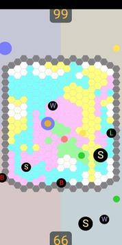 2-4Players Field Game 'HoneycombBattle' screenshot 1