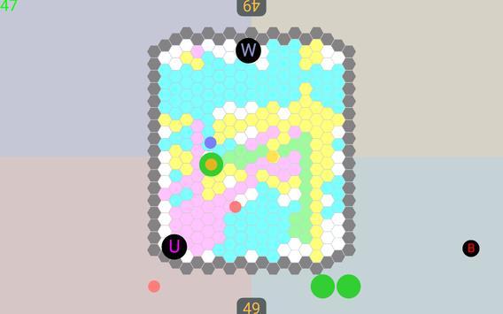 2-4Players Field Game 'HoneycombBattle' screenshot 4