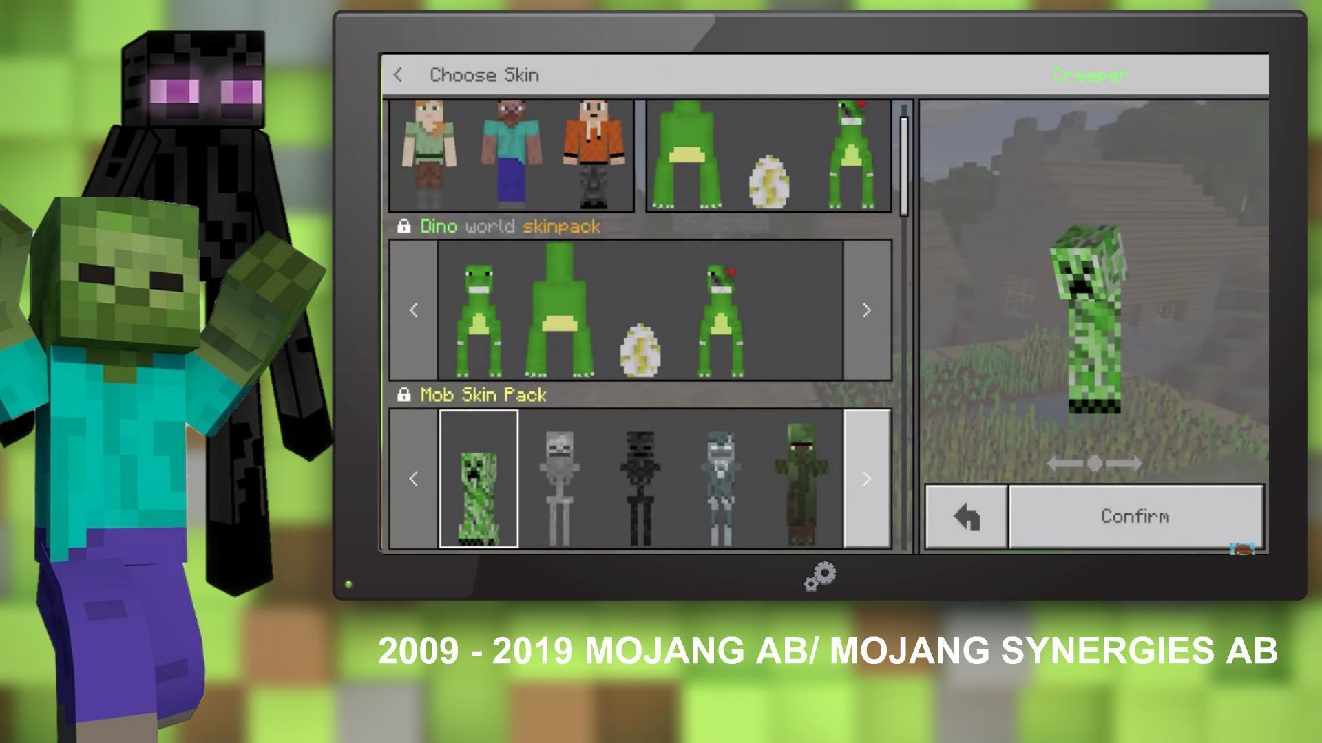 Mobs Skin Pack para Android - APK Baixar