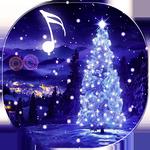 Fond animé de sapin de Noël APK