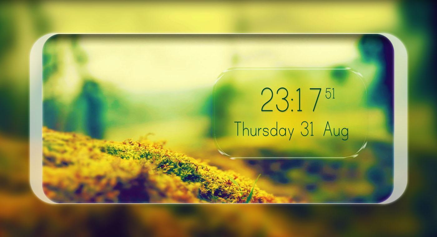 Digital Clock Live Wallpaper for Android - APK Download