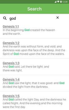 King James Bible capture d'écran 5