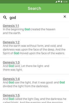 King James Bible capture d'écran 9