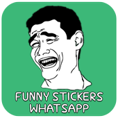 Funny Stickers आइकन