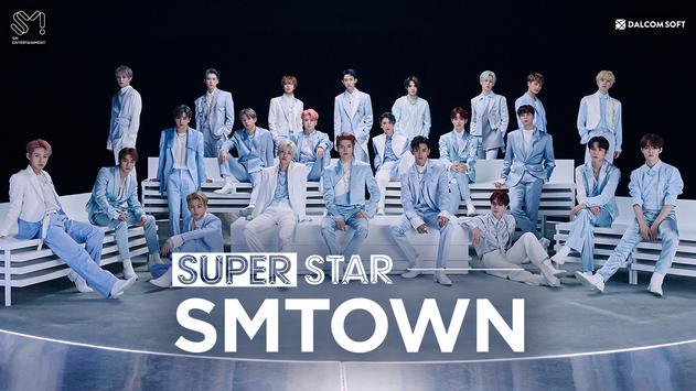 SuperStar SMTOWN Cartaz