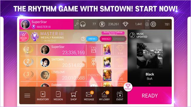 SuperStar SMTOWN imagem de tela 1