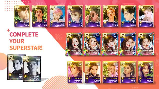 SuperStar SMTOWN 截图 4