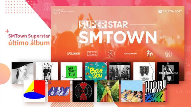 SuperStar SMTOWN captura de pantalla 2