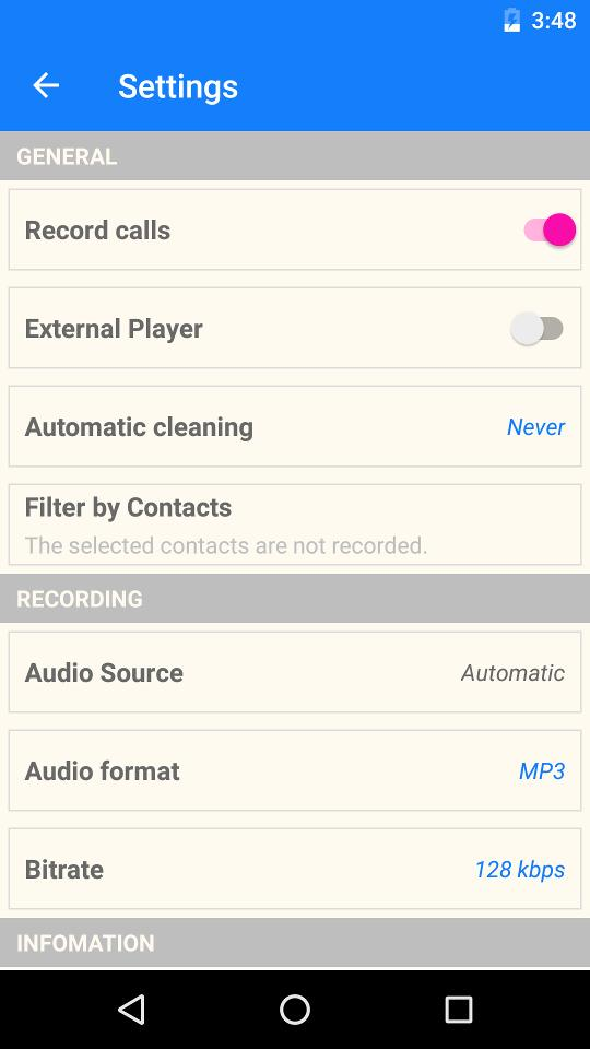 MP3 Call Recorder for Android - APK Download