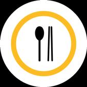 푸드퀘스트 - 음식점에서 먹을 때마다 할인 icon