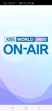 KBS WORLD Radio On-Air poster