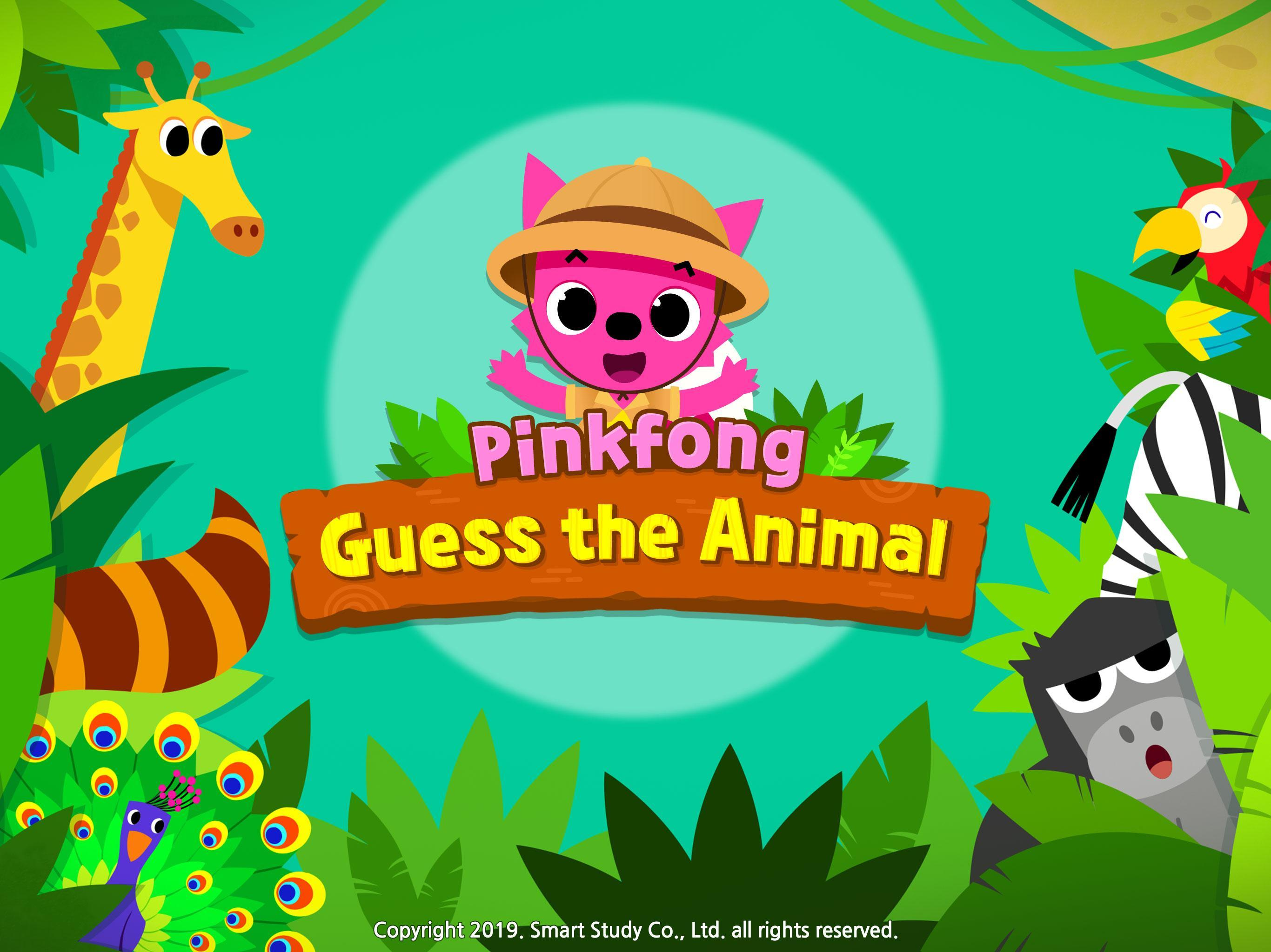 Pinkfong Guess the Animal poster